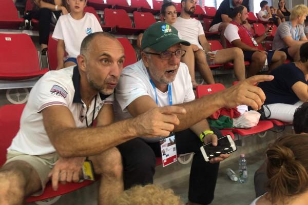 A Mazsihisz elnöke is rajthoz áll a Hajós Alfréd Nemzeti Sportuszodában