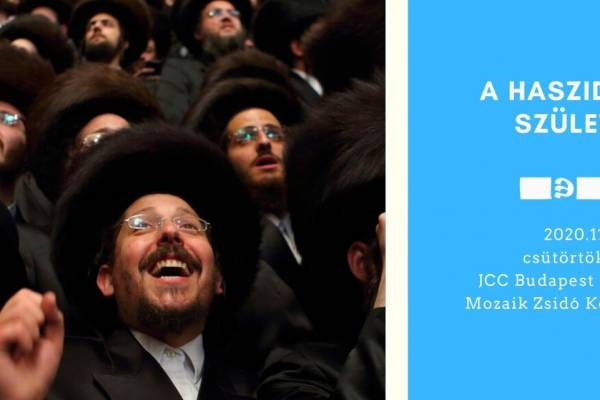 A haszidizmus születése: Dr Balázs Gábor online előadása