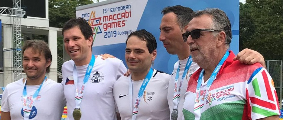 Maccabi: Heisler András egyéni csúccsal kategóriagyőztes