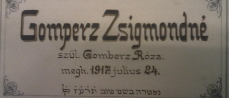Egy zsidó nő, aki nőként kapott saját jogon kitüntetést