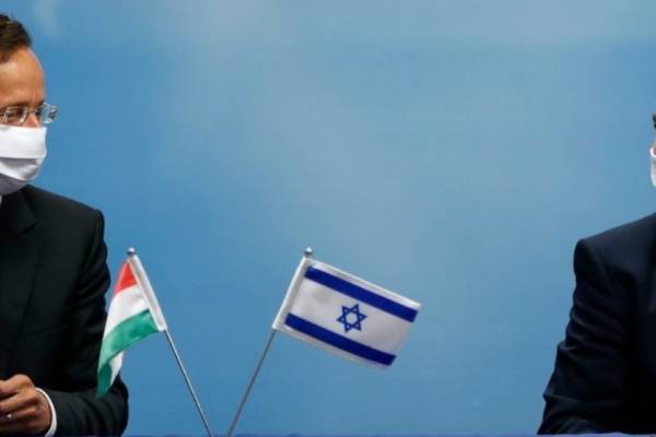 Szijjártó Péter: Magyarország továbbra is kiáll Izrael mellett