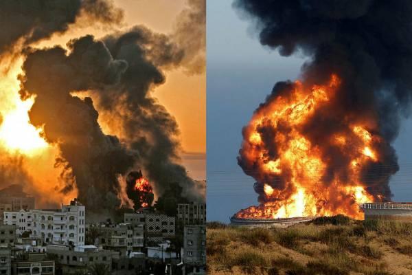 Ma este a terroristák ismét támadták Izraelt