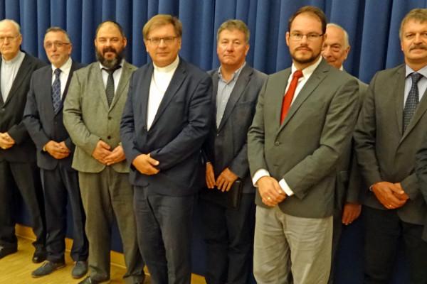 Történelmi egyházak vezetői találkoztak a Mazsihisz székházában