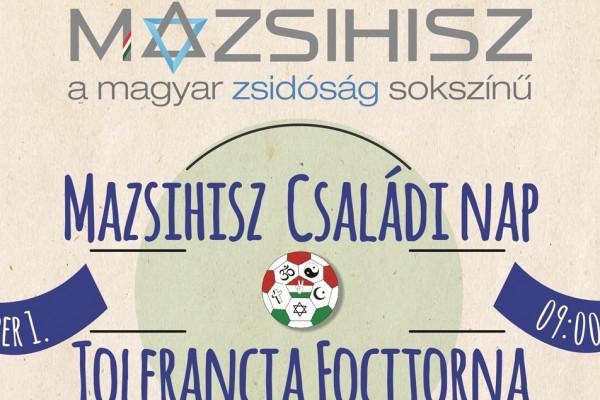 Vallási tolerancia a labda körül – focitornát szervez a Mazsihisz