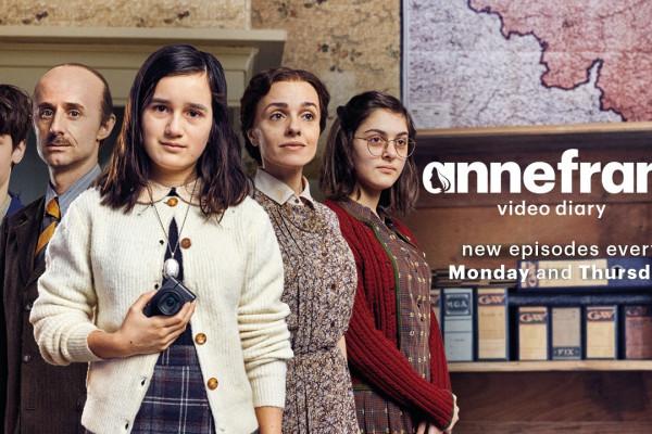 Hatalmas siker az Anne Frankról szóló videónaplós sorozat