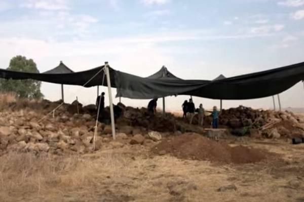3000 éves várromot találtak a Golán-fennsíkon