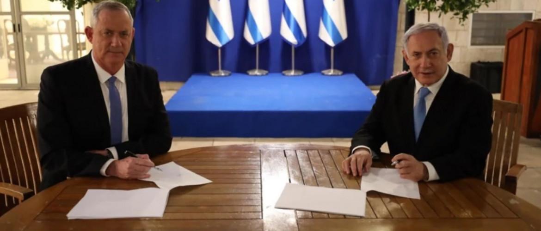 Izrael: Netanjahu és Ganz megállapodott az egységkormányról