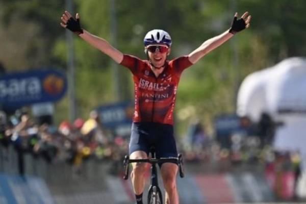 Giro: izraeli szakaszgyőzelem