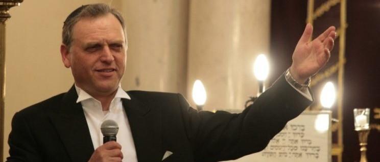 Shmuel Barzilai főkántor koncertje a Hegedűs utcai zsinagógában
