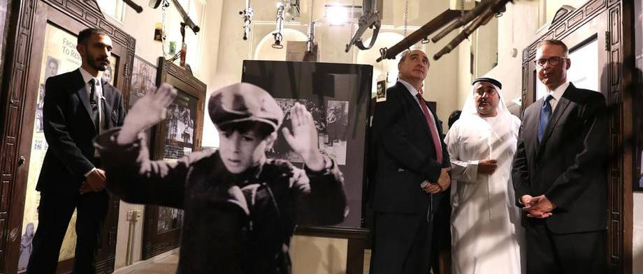 Holokausztkiállítás nyílt az Arab-félszigeten