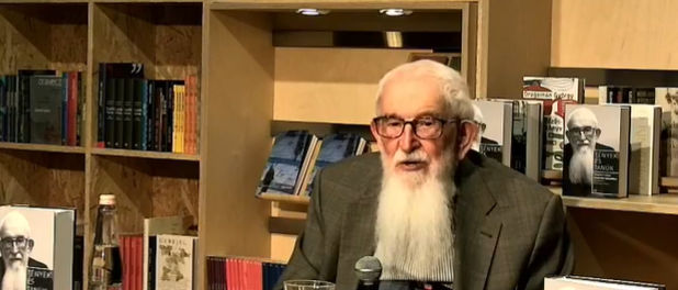 Jeremiás nyomában – Komoróczy professzor dedikál a Láng Tékában