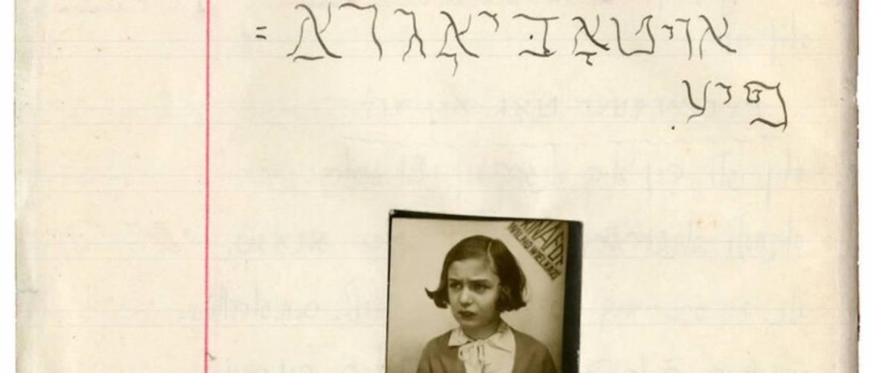 Online kiállítás mutatja be egy vilniusi zsidó kislány mindennapjait