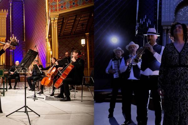 Online premierek a Rumbach-ból: klezmer, barokk és zsidó dallamok