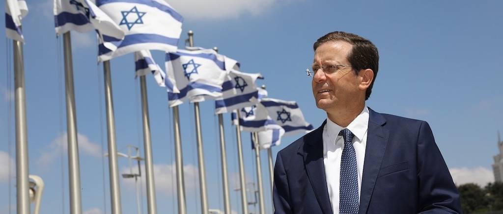 Jichák Hercogot választották államelnökké Izraelben