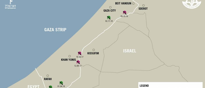 Izrael: újabb betonalagutat derítettek föl a gázai határnál