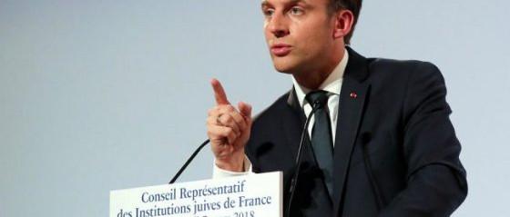 Macron elnök: Franciaország egy nap elismeri Jeruzsálemet Izrael fővárosának