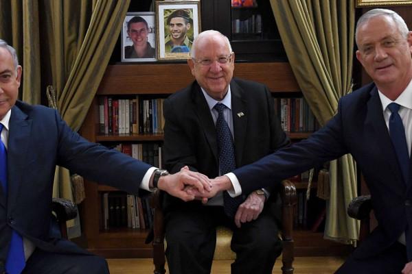 Nagykoalíciós tárgyalások kezdődtek Izraelben