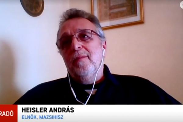 """Heisler András a Demeter-ügyről: """"Cinikus és őrült írás"""""""