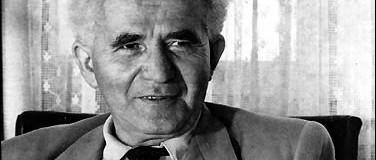 Mai születésnapos: David Ben Gurion, az államalapító