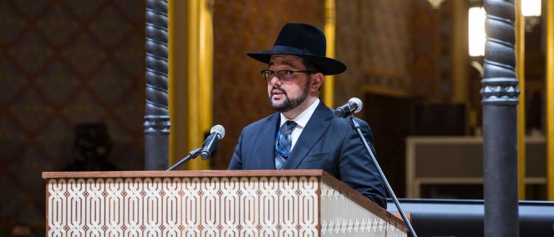 Deutsch Péter rabbi: Az a cél, hogy a Rumbach mindenki közös zsinagógája legyen