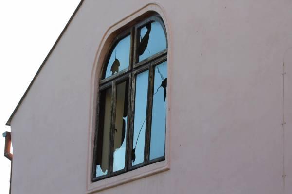 Vandálok rongálták meg a szászvárosi zsinagógát