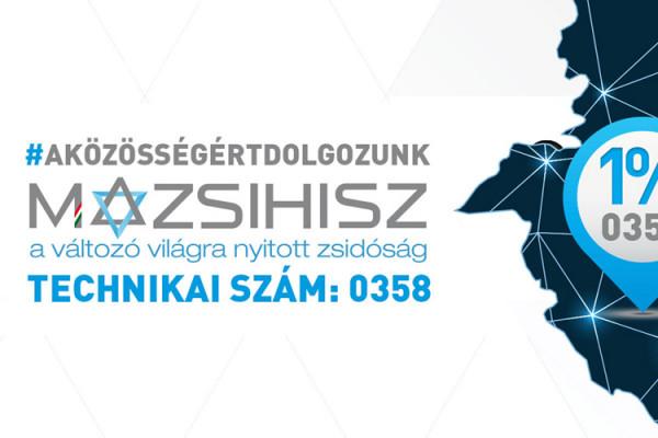 Adjunk 1 percet a magyar zsidóságnak!