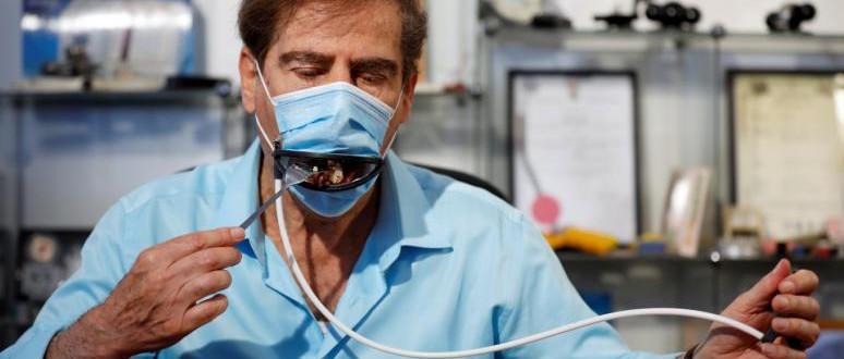 Távirányítással működő szájmaszk izraeli feltalálóktól