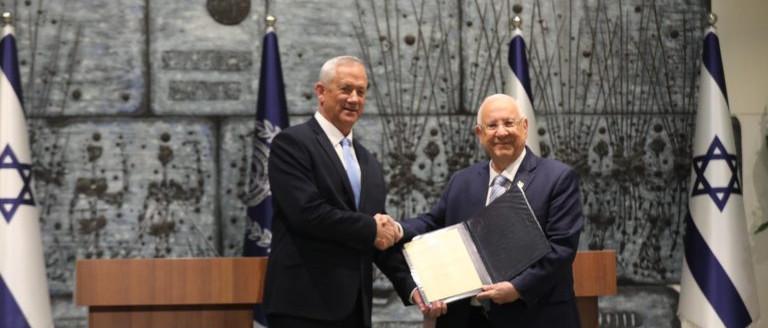 Beni Ganzot bízta meg kormányalakítással az izraeli államfő