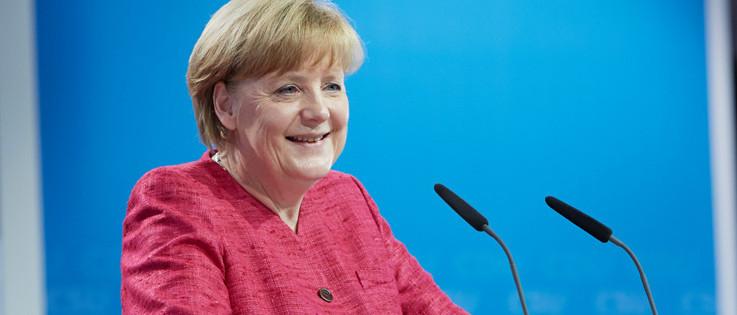 A Zsidó Világkongresszus kitüntette Angela Merkel német kancellárt