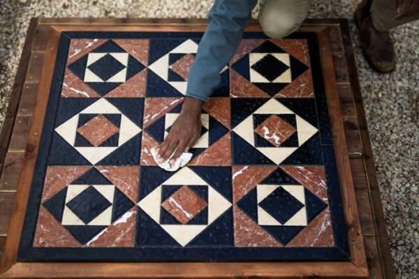 A Heródes-kori Szentély mozaikpadlóját rekonstruálták Jeruzsálemben