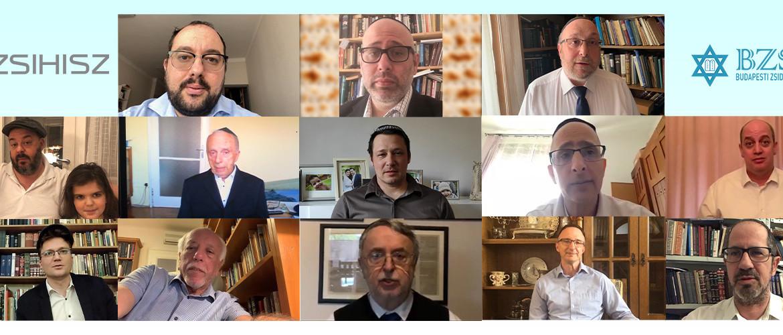 Éljen az elektronikus rabbikar: Köszönjük!