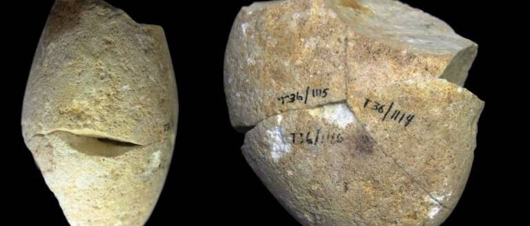 Őstörténeti korszakváltás: 350 ezer éves koptatókő Izraelben
