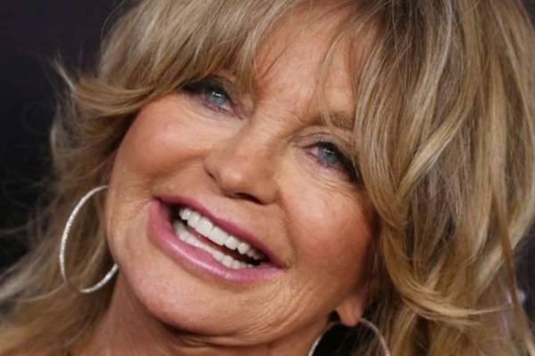 Goldie Hawn, a 75 éves zsidó szépség
