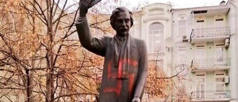 Kijev: Meggyalázták Sólem Aléchem zsidó író szobrát
