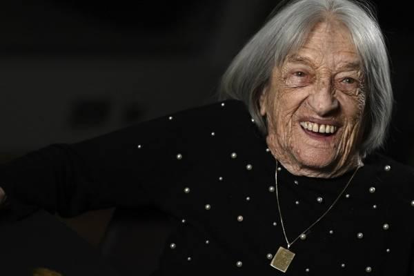 Orbán Viktor és Áder János is köszöntötte a 100 éves Keleti Ágnest