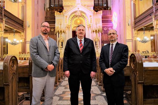 Miskolc új polgármestere a Mazsihisznál