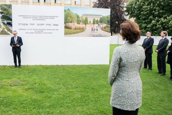 Holokauszt emlékfalat építenek Bécsben