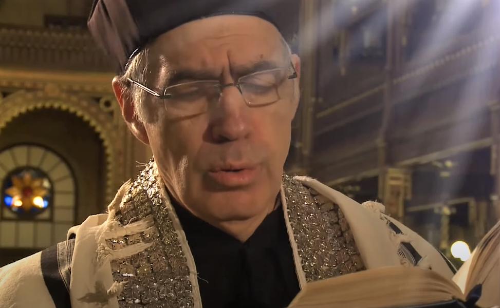 Portréfilm Fekete Lászlóról, a Dohány zsinagóga főkántoráról