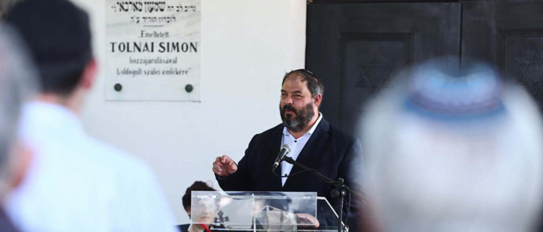 A zsidóság elhurcolására emlékeztek Gyulán