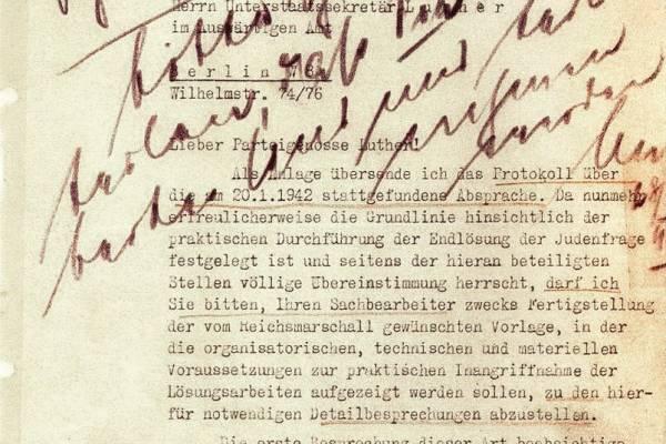Tudományos webináriumon emlékeztek a Wannsee-i konferenciára