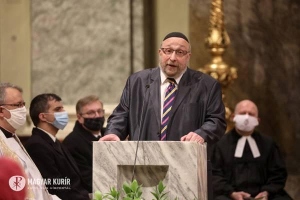 Keresztény-Zsidó Imaórát tartottak a Szent Teréz Plébániatemplomban