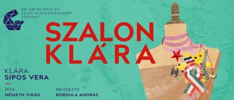 Szalonklára – online premierrel debütál a Gólem Színház új előadóművészeti központja