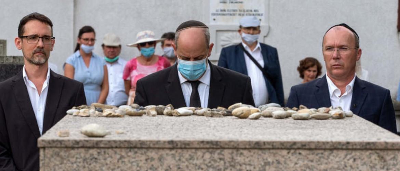 A holokauszt helyi áldozataira emlékeztek Veszprémben