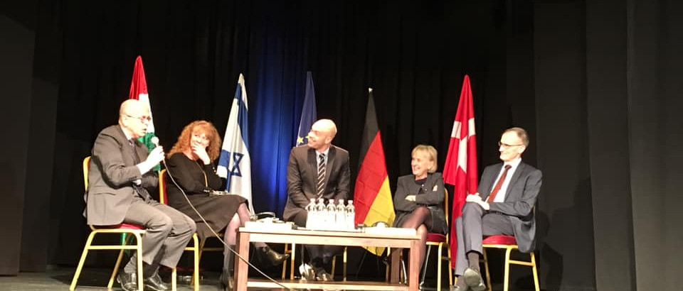 Közösen emlékezett a német, a dán és az izraeli nagykövetség
