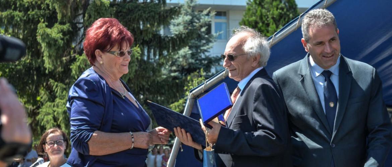 Kamarai díj a gyöngyösi hitközség elnökének
