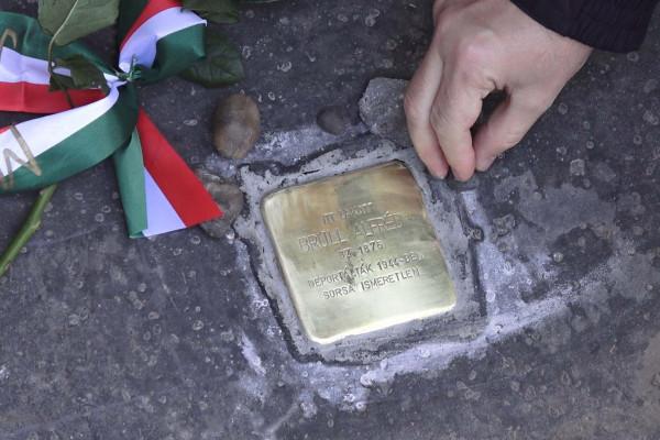 Botlatókövet kapott Brüll Alfréd, a magyar sport pótolhatatlan alakja
