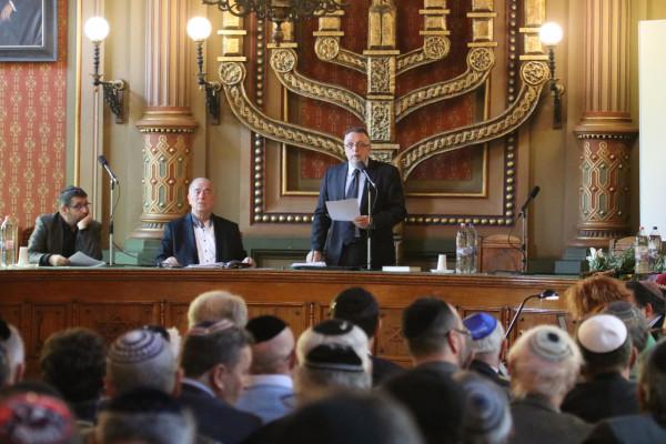 A hazai zsidóság legfőbb érdekvédelmi szerveként lépünk föl az antiszemitizmus ellen