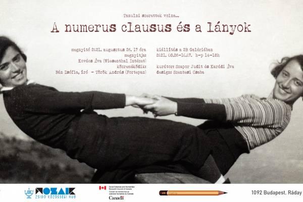 A numerus clausus és a lányok a 2B Galéria új kiállításának fókuszában