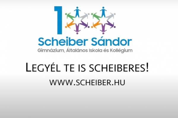 Legyél Te is Scheiberes – Online nyílt nap a Scheiber Iskolában!