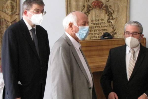 Az OR-ZSE Dísztermében mutatták be Dr. Schőner Alfréd: Szószék és Katedra című könyvét